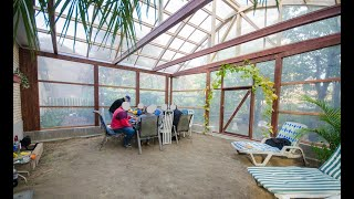 DIY - How I buİlt the Plus4Zones greenhouse, the Sun Terrace and other unheated greenhouses