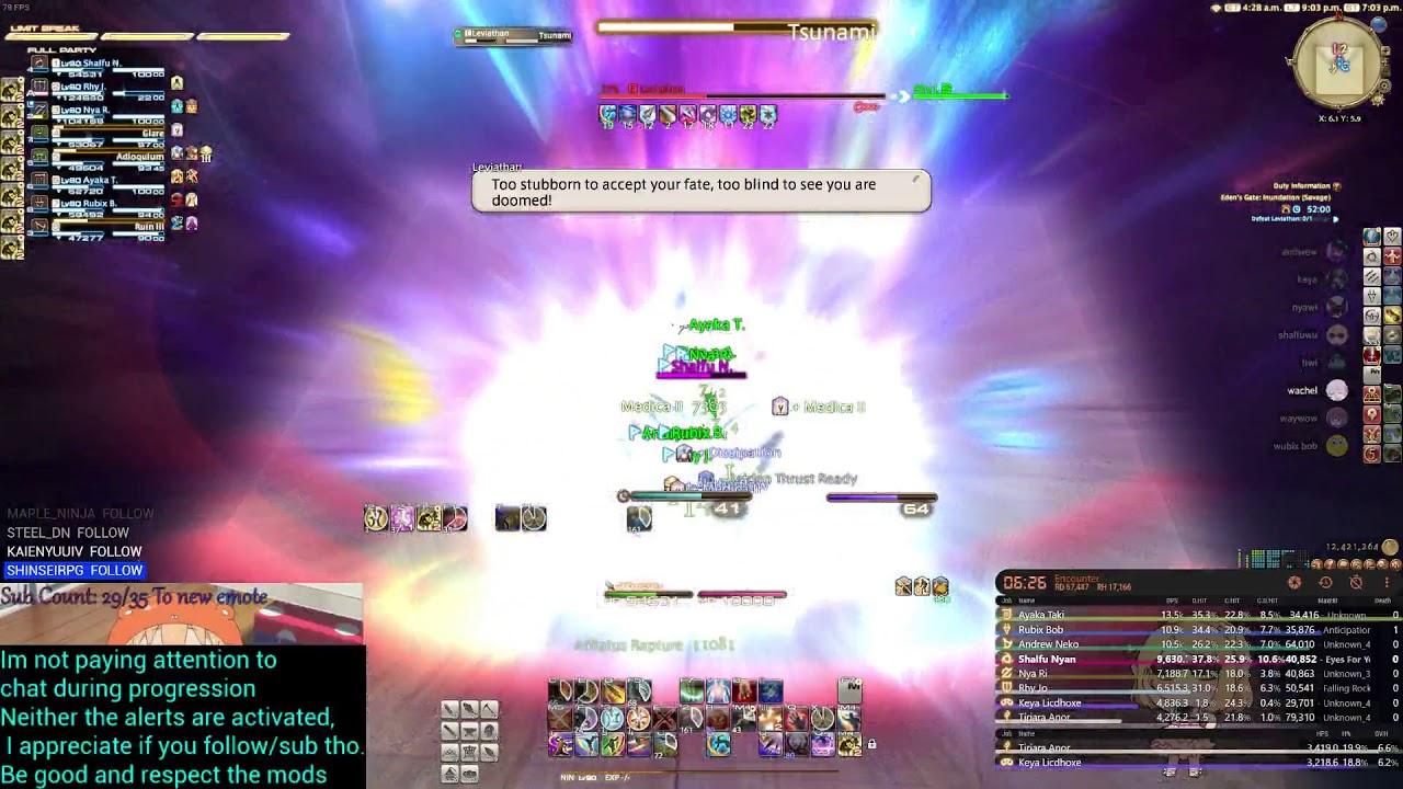 FFXIV Ninja E3S First clear