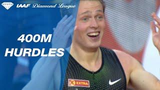 Karsten Warholm sets a 400m Hurdles Norwegian Record in Oslo - IAAF Diamond League 2019