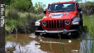 2021 Jeep Wrangler Rubicon 4xe Off-Road Driving (PHEV)