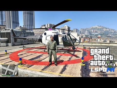 LSPDFR #447 - AIR ONE | HELICOPTER PATROL!! (GTA 5 REAL LIFE POLICE MOD)
