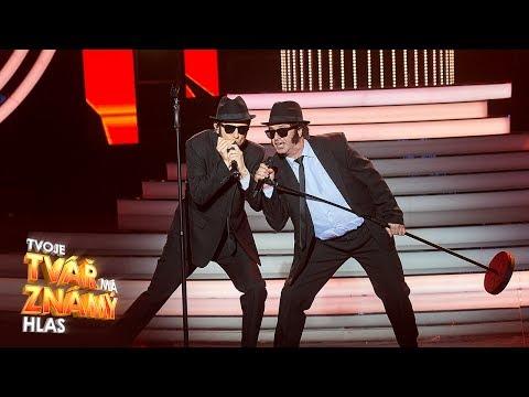 M Dejdar a O Ruml jako The Blues Brothers Everybody Needs  Tvoje tvář má známý hlas