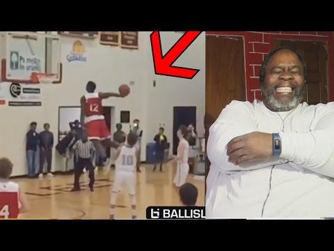 Dad Reacts to Zion Williamson Mixtape!