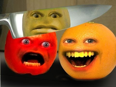 annoying orange - first person fruiter - youtube