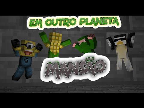 Minecraft - Em Outro Planeta #1 - A Mansão De Tijolo De Pedra
