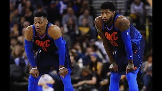 Paul George and Russell Westbrook are LOCKING UP | 2018-19 OKC Defense Mix