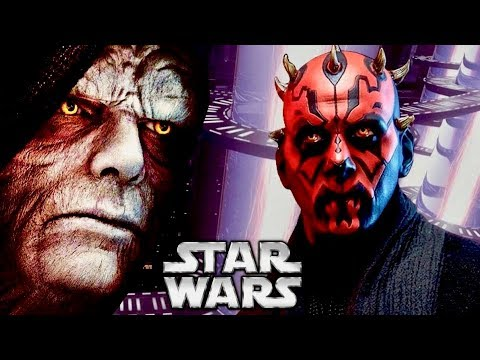 Why Palpatine Should Have Foreseen Darth Maul's Defeat on Naboo