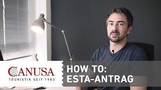 CANUSA erklärt: ESTA-Antrag für die USA | CANUSA