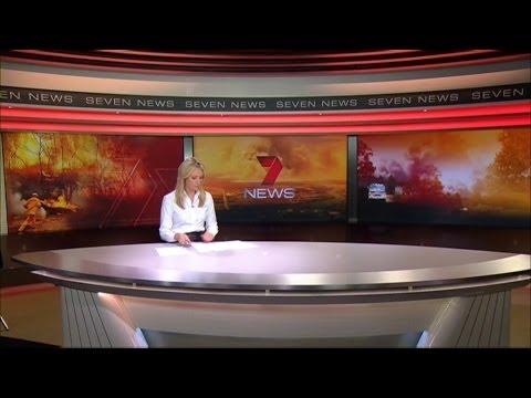 Seven News Sydney - Special NSW Bushfires coverage bulletin (21/10/2013)