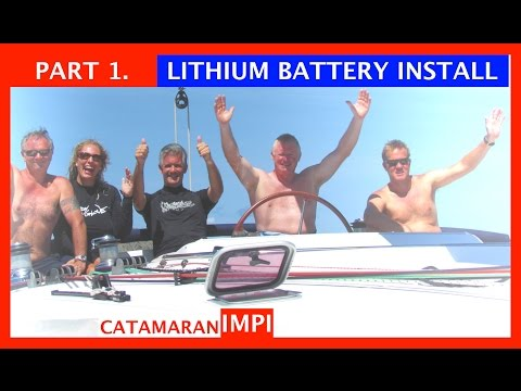 Pt 1.  LITHIUM BATTERY INSTALLATION