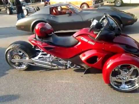 Custom Can Am Spyder Youtube