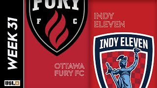 Ottawa Fury FC vs. Indy Eleven: October 2, 2019