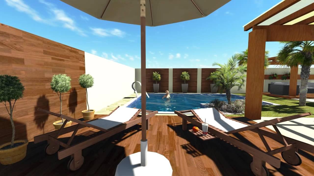 projeto area de churrasco e piscina youtube