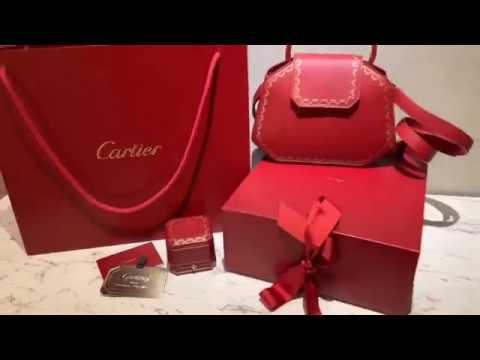 卡地亞最新GUIRLANDE DE CARTIER系列包款開箱 - YouTube be6b204619e