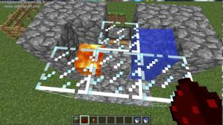 3 серия, бесконечные источники майнкрафт  (Minecraft 1.8.1)