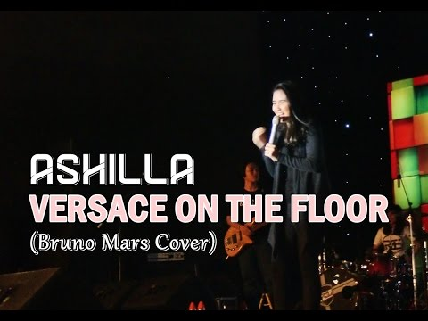 Ashilla Zahrantiara - Versace On The Floor (Short Cover - Bruno Mars) || Live Makassar