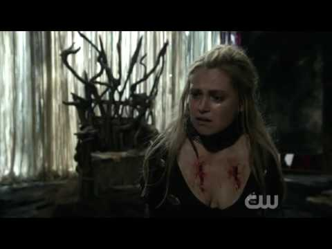 The 100 3x15 Clarke tries to save Ontari