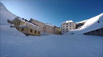 ski-randonnée Col du Grand St. Bernard depuis Bourg St. Bernard, Val d'Entremont, Valais, Suisse