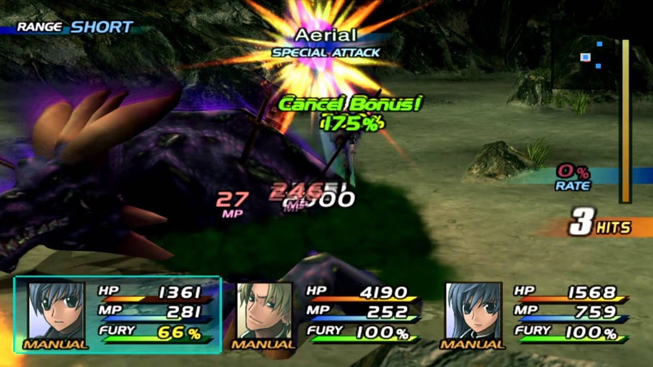 Star Ocean 3 Till The End Of Time Boss Blue Dragon Zombie 4d Mode