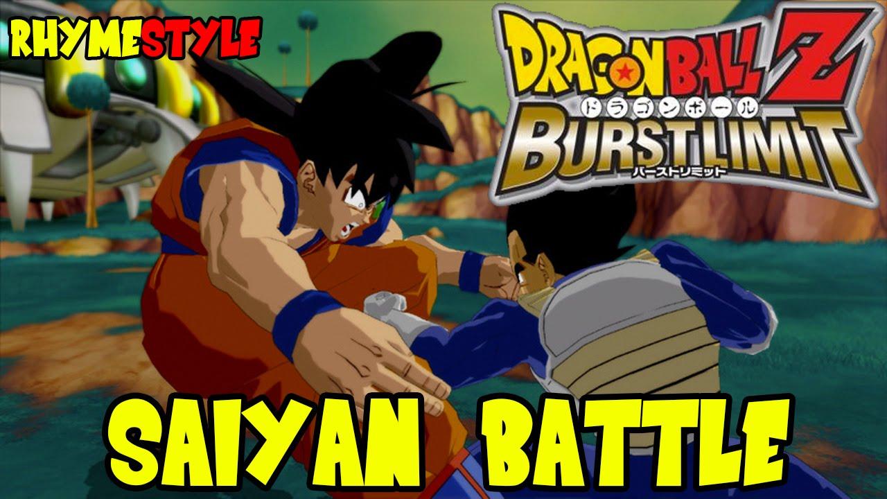 Dragon Ball Z Burst Limit Super Saiyan Goku Kamehameha Vs Vegeta Final Flash