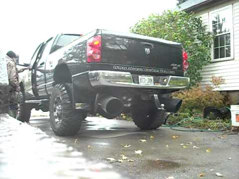 2007 DODGE DIESEL WITH 10 INCH Pypes Exhaust STACKS
