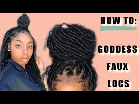 how-to:-goddess-faux-locs-|-jaterra-bria'na