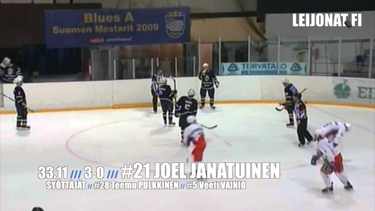 Maalikooste: Blues-Tappara (4-0) // Nuorten SM-liiga 11.9.2013 - YouTube