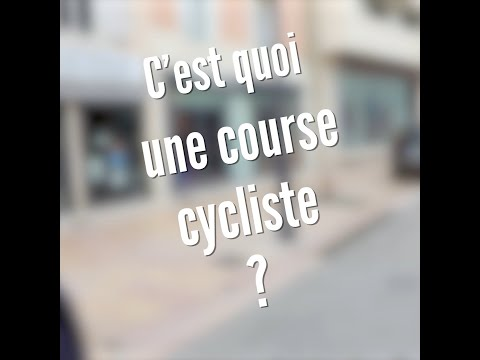C'est quoi un tour cycliste ?