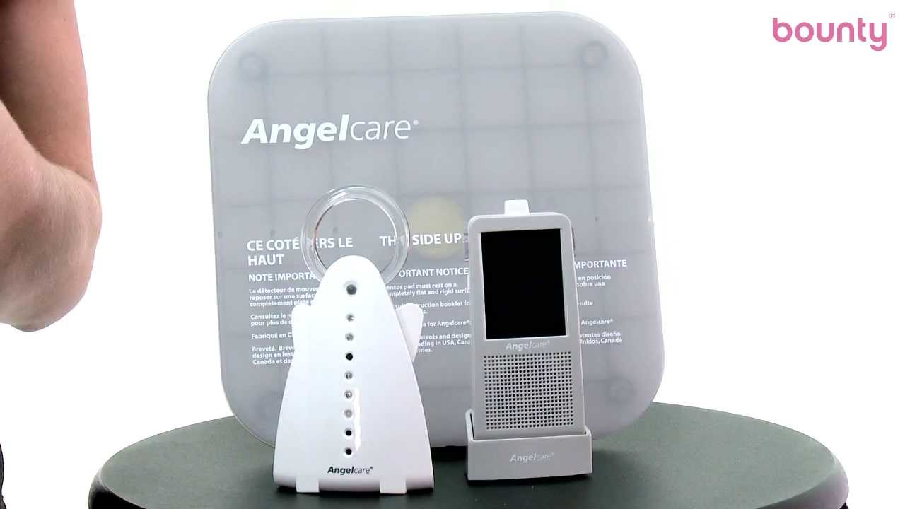 Angelcare Video Movement and Sound Monitor AC1100 Platinum Edition