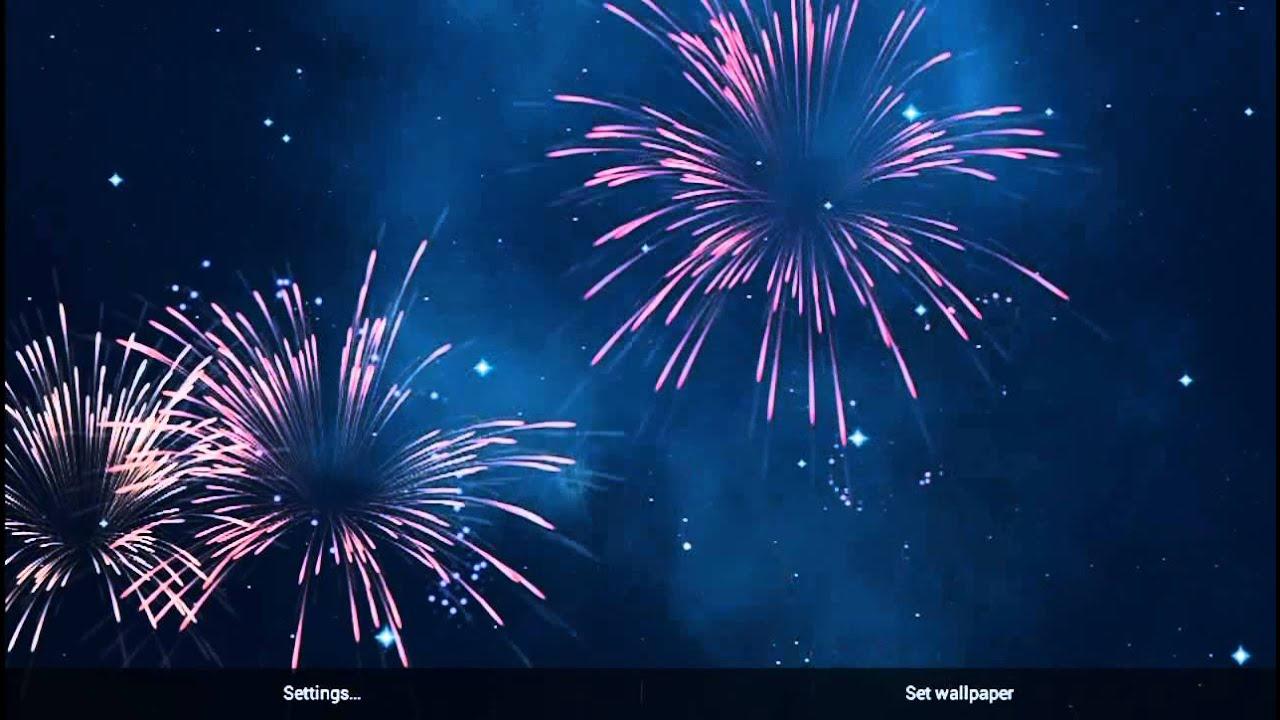 KF Fireworks Live Wallpaper