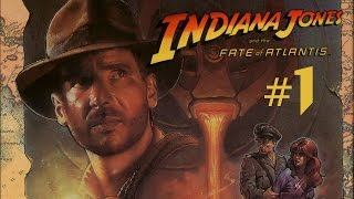 Indiana Jones and the Fate of Atlantis #1 - Hay que ser torpe, Indy...