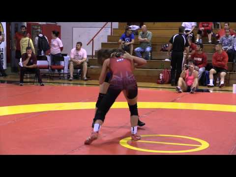 2014 Canada Cup: 55 kg Krystal Adair (CAN) vs. Erica D'Angelo (CAN)