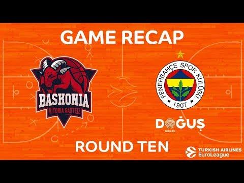 Highlights: Baskonia Vitoria Gasteiz - Fenerbahce Dogus Istanbul