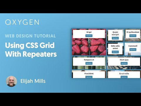 Using CSS Grid With Repeaters In Oxygen