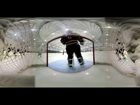 NAVY Men's Ice Hockey 360 Goal Cam  Two more goals vs West Chester University. 03032017