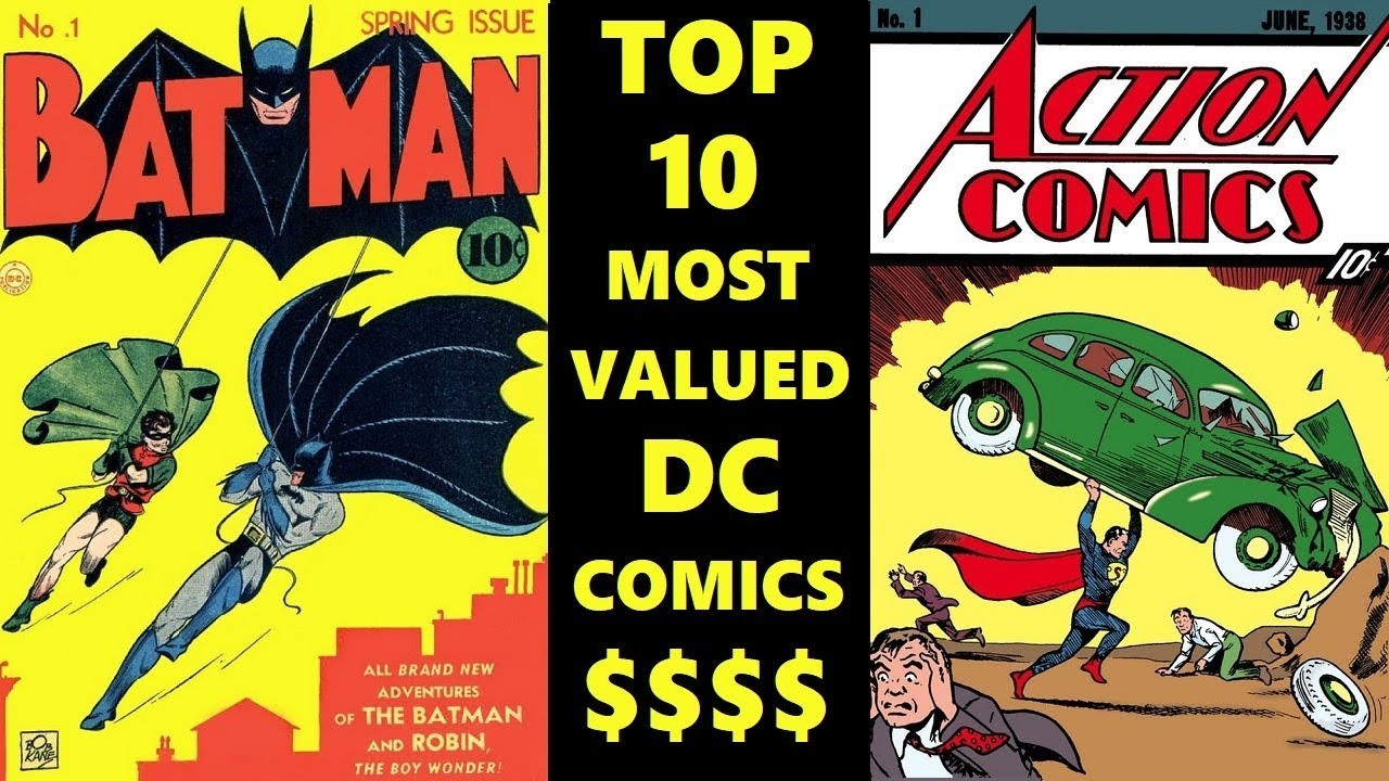 TOP 10 MOST VALUABLE DC COMICS| 2019 PRICES
