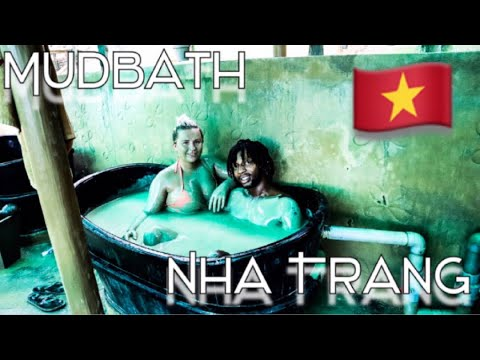 Nha Trang MUD BATH in VIETNAM - TRAVEL VLOG