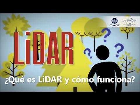 CentroGeo: ¿Qué es LIDAR y como funciona?