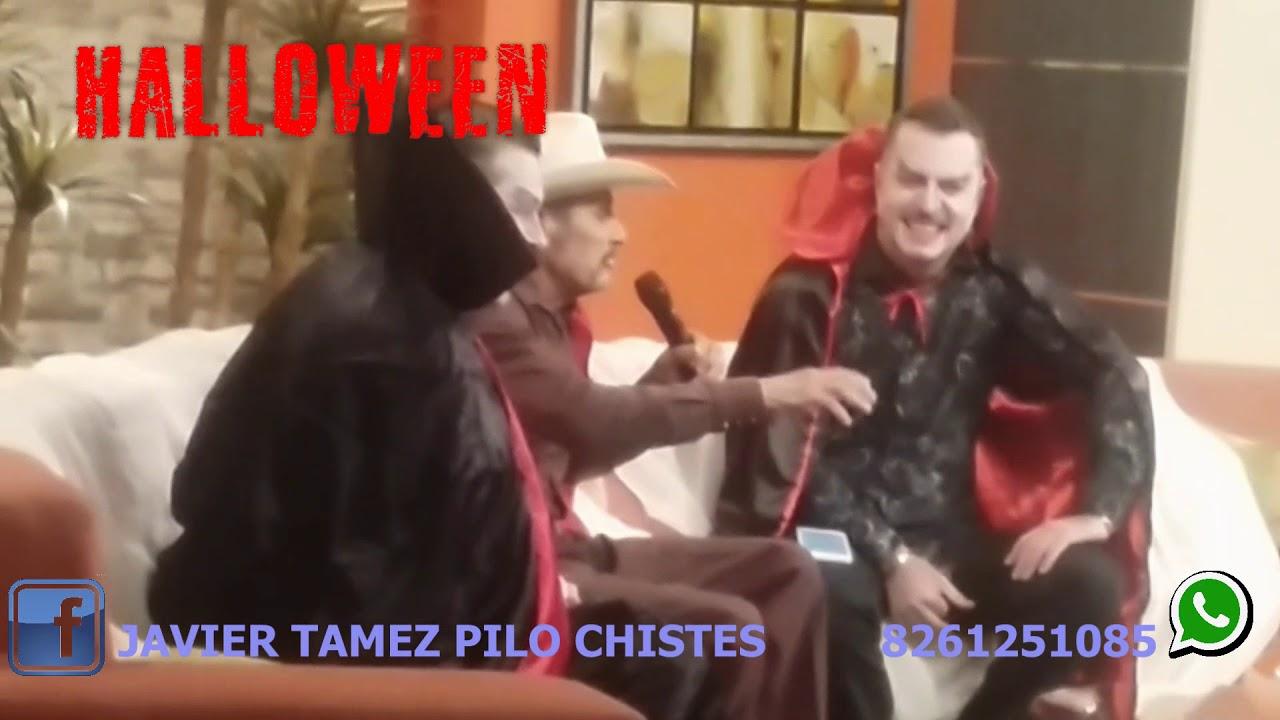Halloween con Pilo Chistes Javier Tamez