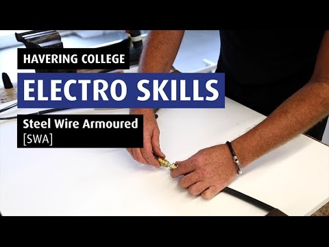 How To: Terminate A Steel Wired Armoured Cable - Electro 05