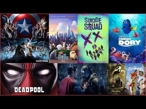 Top 10 Best Hollywood movies List 2016...