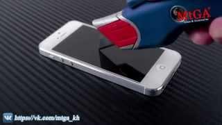 Испытание закаленного стекла для iPhone(Испытание защитного стекла для iPhone5/5s. Продажа защитного стекла на #iPhone 4/4s, 5/5s, 6. Доставка по всей Украине..., 2015-05-15T19:34:10.000Z)
