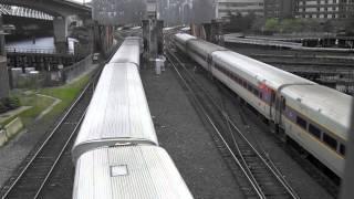 [HD] Boston MBTA Commuter Railroad Railfanning