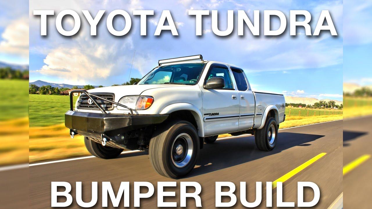 custom bumper build toyota tundra dumbshitdaily youtube. Black Bedroom Furniture Sets. Home Design Ideas