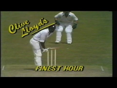 Highlights from the 1975 Cricket World Cup!