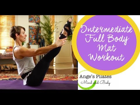 Ange's Pilates Intermediate Full Body Mat Workout