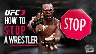 HOW to STOP a WRESTLER in UFC 3 (ONLINE RANKED)