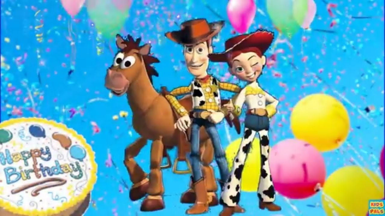 Toy Story Style Happy Birthday Song