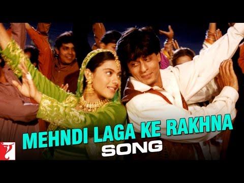 Mehndi Laga Ke Rakhna Song | Dilwale Dulhania Le Jayenge | Shah Rukh Khan | Kajol