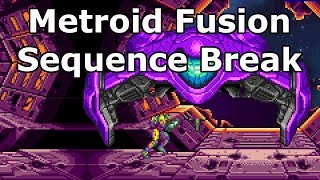 Metroid Fusion - Skip to End of Game with Memory Corruption